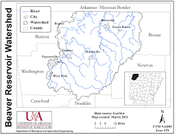 Morgan State University Map by Watershed Protection Program U2013 Beaver Lake