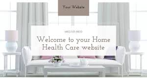 Home Health Care Website Templates GoDaddy - Home health care furniture