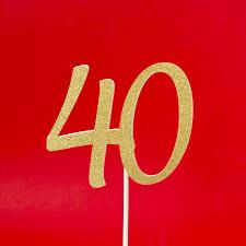 40 cake topper birthday cake topper custom age inspired by alma