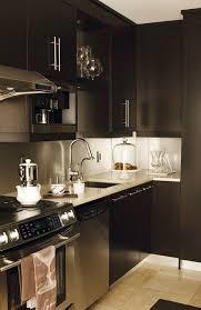 Brushed Stainless Steel Backsplash by Brushed Nickel Gooseneck Faucet Design Ideas