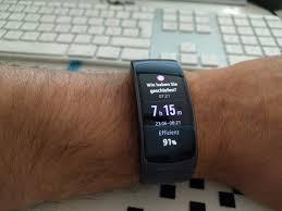 samsung gear fit2 test u2013 alles fit bis auf den akku