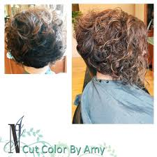 stacked hair longer sides best 25 curly stacked bobs ideas on pinterest curled bob