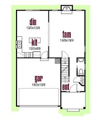 House Plans Farmhouse Style Farmhouse Style House Plan 3 Beds 2 50 Baths 1620 Sq Ft Plan 435 1