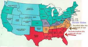 can you me a map of the united states 1861 us map lots of civil war info on page who where when