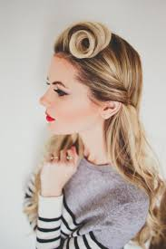 hairstyles pin curls go retro with 10 modern 60s inspired hairstyles brit co