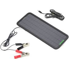 Diy Solar Phone Charger Amazon Com Allpowers 18v 5w Portable Solar Car Battery Charger