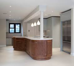 kitchen island breakfast bar curved oliver james furniture ltd