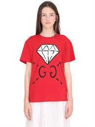 t shirts gucci luisaviaroma com women u0027s clothing fall