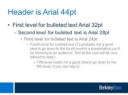 berkeley haas powerpoint presentation template ppt video online