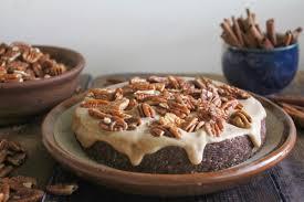 raw chocolate caramel pecan cake vegan pecan cake caramel