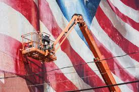 Philadelphia Flag Our Flag Unfurled Mural Dedication Mural Arts Philadelphia Mural