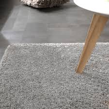 Esszimmerst Le Rieger Shaggy Teppich Rio Xxl Super Shaggy Hochflor Langflor Uni Grau Ebay