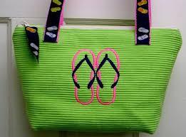 flip flop bag placemat bags placemat purses