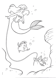 the little mermaid coloring pages8 coloring kids