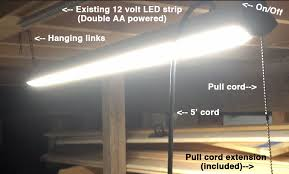 Hanging Led Lights by Led Lights The Cedar Workshop