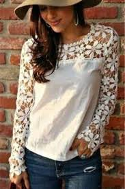 sleeve lace blouse lace top just my style sleeve lace top the chic find