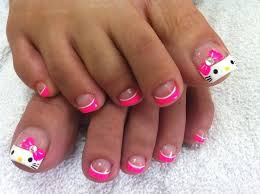 15 most beautiful bow toe nail art design ideas