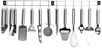 ustensiles de cuisines kitchen artist men110 barre 12 ustensiles de cuisine en inox