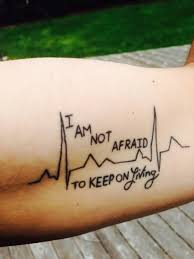 heartbeat quote made on inner arm segerios com