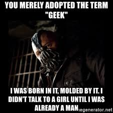 Geek Birthday Meme - happy birthday brother bane meme meme generator