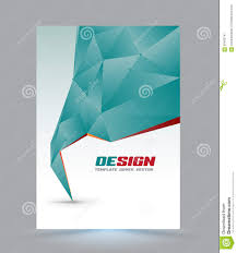 Sample Cover Page Templates by Cover Page Layout Template Stock Vector Image 60453747