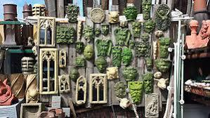 green decorative garden wall ornaments plaques pagan wiccan