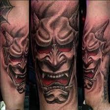 hannya mask samurai tattoo hannya mask tattoo designs meanings and ideas hannya mask tattoo