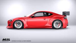 frs toyota 86 ml24 scion fr s toyota gt86 version 2 wide body kit automotive