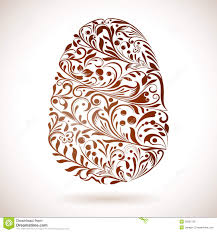 abstract easter egg ornament royalty free stock photo image