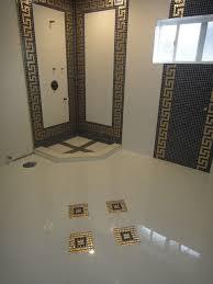 versace bathroom by our genius tile installer traditional bathroom