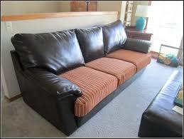 Leather Sofa Cushion Bonded Leather Sofa Cushion Covers Sofa Home Furniture Ideas