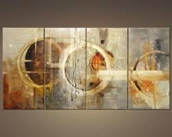 wood frame wall decor combo alfred gockel painting abstract canvas wall