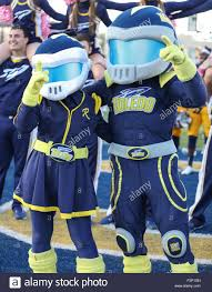 toledo oh usa 10th oct 2015 the toledo mascots celebrate the