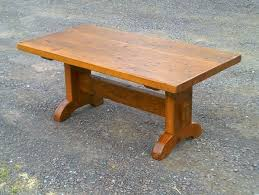 Trestle Coffee Table Occasional Tables Antique Tables
