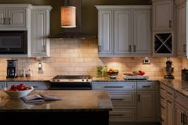 Microwave In Kitchen Cabinet by Led Kitchen Lighting Fixtures Dark Brown Varnished Wooden Drawer