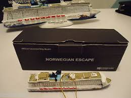 new in box cruise lines ncl escape cruise ship