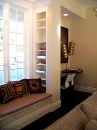 Bathroom Blinds Ideas Bathroom Appealing Furniture Lovely Low Bay Window Seat Three