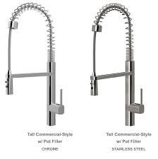 Restaurant Style Kitchen Faucet Professional Style Kitchen Faucet Parts Black And Gold Faucets