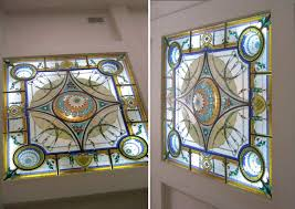 stained glass work table design custom stained glass sky lights by casa loma art images with