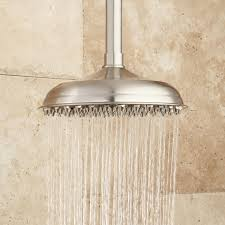 Flush Ceiling Shower Head by Piermont Ceiling Mount Rainfall Raised Nozzle Shower Head Bathroom