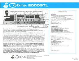 cobra 2000gtl