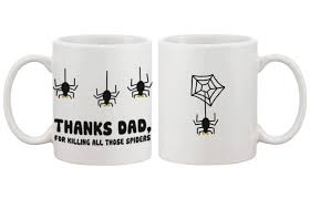 Funny Coffee Mugs by Com Funny Ceramic Coffee Mug For Dad Thanks For Killing All