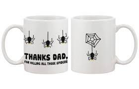 weird coffee mugs com funny ceramic coffee mug for dad thanks for killing all
