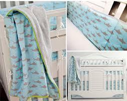 Custom Crib Bedding For Boys Sharks Custom Crib Bedding Organic Usa