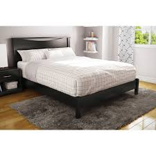 South Shore Step One Dresser by Step One Contemporary Platform Bed Queen Pure Black Beds