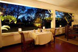 Crater Lake Lodge Dining Room by Luxury Tanzania Safari Lodge Legendary Lodge Art Of Safari