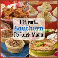 Quick And Easy Main Dish Dinner Ideas Southern Living Ultimate Southern Potluck Menu Mrfood Com