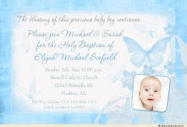 butterfly kisses baptism invitation cards blessing boy real photo