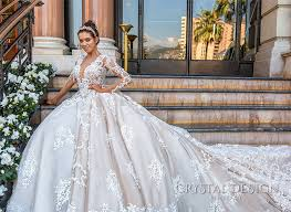 crystal design haute u0026 sevilla couture wedding dresses 2017 ball