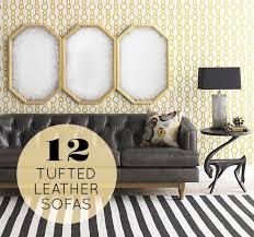 best 25 tufted leather sofa ideas on pinterest restoration